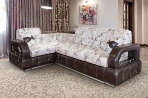 Удобный угловой диван Лазурит - Мебельная фабрика «Стелла»