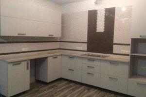 Угловая белая кухня - Мебельная фабрика «Мебель Хаус»
