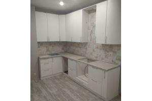 Угловая белая кухня - Мебельная фабрика «КамиАл»