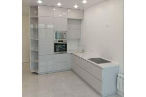 Угловая глянцевая кухня - Мебельная фабрика «Гранд Мебель 97»