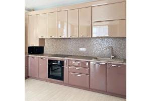 Угловая глянцевая кухня - Мебельная фабрика «Астмебель»