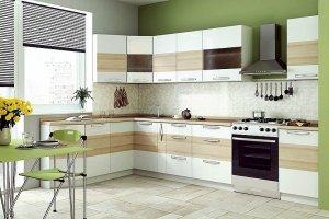 Угловая идеальная кухня - Мебельная фабрика «Мебельная мастерская»