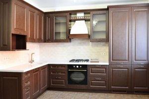 Угловая классическая Кухня 003 - Мебельная фабрика «Ре-Форма»