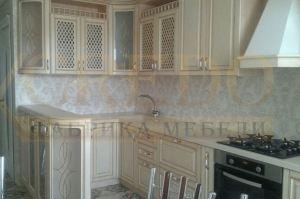 Угловая классическая кухня - Мебельная фабрика «Кредо»