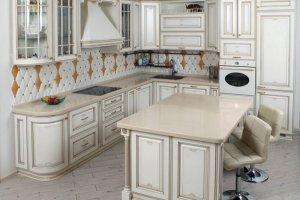 Угловая классическая кухня - Мебельная фабрика «Элна»