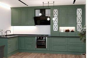 Классическая кухня с резными фасадами - Мебельная фабрика «VELDE»