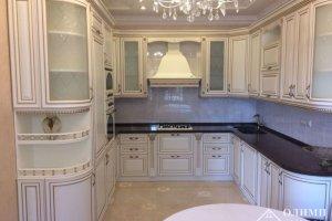 Угловая классическая кухня Афродита 05 - Мебельная фабрика «ОЛИМП»