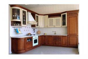 Угловая классическая кухня АЛЬТУРА - Мебельная фабрика «КухниДар»