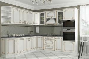 Угловая классическая кухня Ампир - Мебельная фабрика «КомфортОН», г. Москва