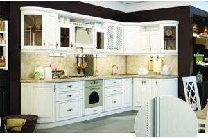 Угловая классическая кухня Итальянка - Мебельная фабрика «Модерн»