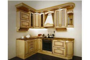 Угловая классическая кухня МДФ - Мебельная фабрика «Арт Мебель» г. Новосибирск