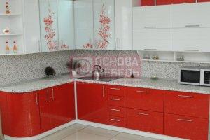 Угловая красивая кухня - Мебельная фабрика «Основа-Мебель»