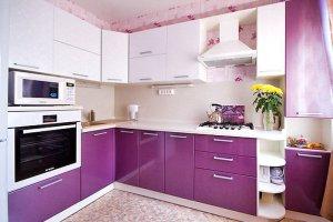 Угловая красивая кухня - Мебельная фабрика «Ленинградская мебельная фабрика»