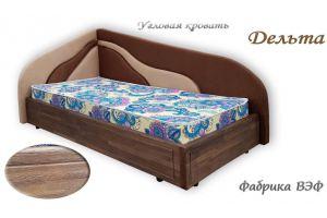 Угловая кровать Дельта - Мебельная фабрика «ВЭФ»