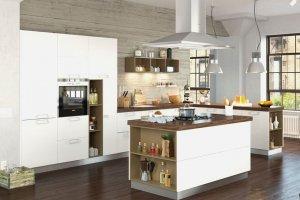 Угловая кухня 003 - Мебельная фабрика «МЕБЕЛИАНА»
