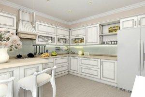 Угловая кухня 005 - Мебельная фабрика «МЕБЕЛИАНА»