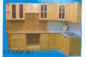 Угловая кухня 1 - Мебельная фабрика «Mebilius»