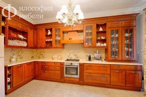 Угловая КУХНЯ №18 - Мебельная фабрика «Философия мебели»