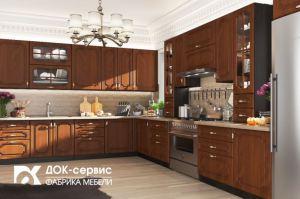 Угловая кухня - Мебельная фабрика «ДОК-Сервис»