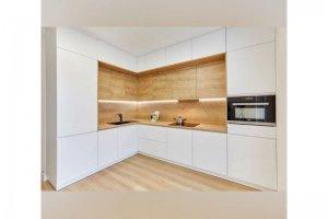 Угловая кухня белая - Мебельная фабрика «Элна»
