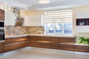 Угловая КУХНЯ №34 - Мебельная фабрика «Философия мебели»