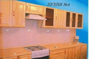 Прямая кухня 4 - Мебельная фабрика «Mebilius»