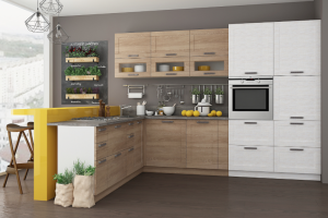 Угловая кухня Аллегро - Мебельная фабрика «СОНиК»