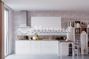 Угловая кухня ARIA (М 71, ШПОН ЯСЕНЯ) - Мебельная фабрика «Малина»