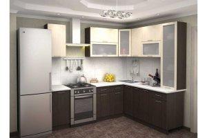 Угловая кухня Базис ЭКО ОКМ - Мебельная фабрика «OKMebell»