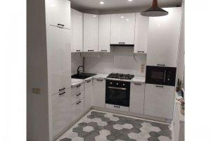 Угловая кухня Белый глянец - Мебельная фабрика «Кухни-АСТ»