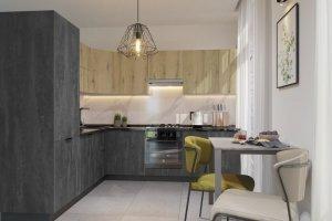 Угловая кухня Бостон 2 - Мебельная фабрика «Эстель»