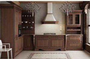 Угловая кухня Бремен Браун - Мебельная фабрика «Zuchel Kuche»