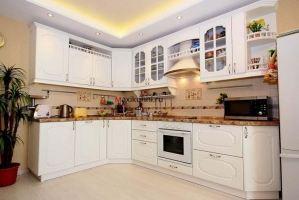 Угловая кухня Бронза с патиной - Мебельная фабрика «MaxiКухни»