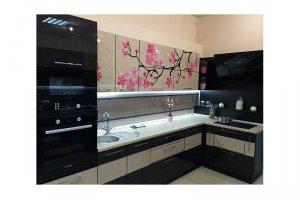 Угловая кухня Челси - Изготовление мебели на заказ «КухниДар»