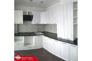 Угловая кухня черная/белая - Мебельная фабрика «Смоленскмебель»