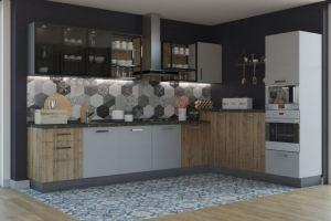 Угловая кухня Чикаго - Мебельная фабрика «Акварель»