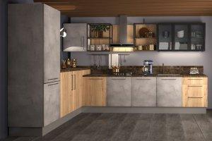 Угловая кухня Даллас - Мебельная фабрика «Ульяновскмебель (Эвита)»