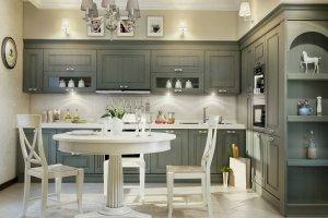Угловая кухня Доминика - Мебельная фабрика «Симбирская мебельная компания»