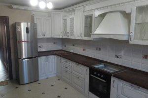 Угловая кухня экошпон - Мебельная фабрика «Корпус»