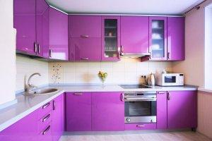 Угловая кухня Эмаль - Мебельная фабрика «Lakma»