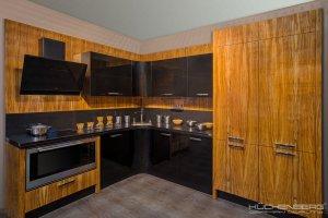 Угловая кухня ENERGY OLIVA - Мебельная фабрика «KUCHENBERG»