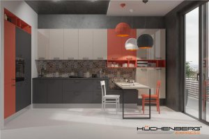 Угловая кухня EXPRESS LACATTO - Мебельная фабрика «KUCHENBERG»