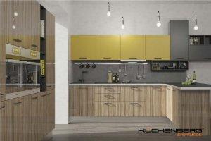 Угловая кухня  EXPRESS PRATICO ЛДсп - Мебельная фабрика «KUCHENBERG»