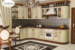 Угловая кухня Франсуаза - Мебельная фабрика «Альбина»