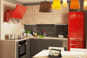 Угловая кухня Фрейм - Мебельная фабрика «Лорена»