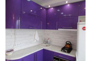 Угловая кухня глянец - Мебельная фабрика «Мебель +5»
