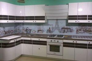 Угловая кухня глянец - Мебельная фабрика «Фаворит-Плюс», г. Москва