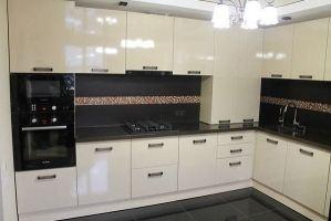 Угловая кухня глянец - Мебельная фабрика «МЭК»