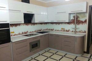 Угловая кухня глянец - Мебельная фабрика «Люкс-С»