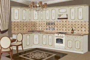 Угловая кухня Грация - Мебельная фабрика «Аристократ»